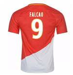 2017-18 Monaco Home Shirt (Falcao 9)
