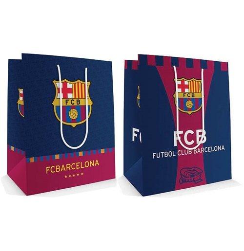 Kids Childrens Football Field 100 X 133cm: Official Barcelona FC Gift Bag L 75183A : Buy Online On Offer