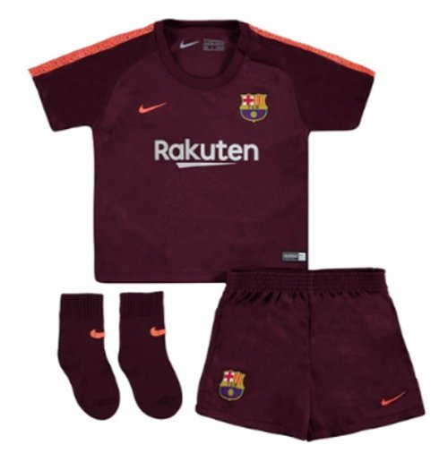 2017-2018 Barcelona Third Nike Baby Kit