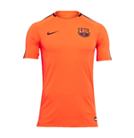 2017-2018 Barcelona Nike Training Shirt (Hyper Crimson)
