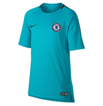 2017-2018 Chelsea Nike Training Shirt (Omega Blue) - Kids