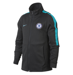 2017-2018 Chelsea Nike Authentic Franchise Jacket (Anthracite) - Kids