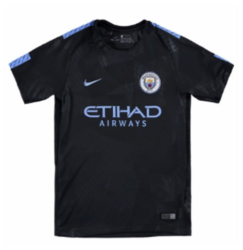 2017-2018 Man City Third Nike Football Shirt (Kids)