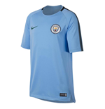 2017-2018 Man City Nike Squad Training Shirt (Field Blue) - Kids