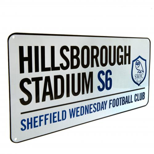 Sheffield Wednesday F.C. Street Sign