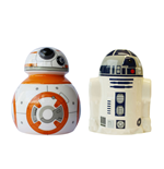 Star Wars Episode VII Salt and Pepper Pots BB-8 & R2-D2