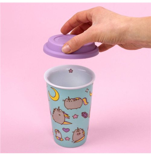 Pusheen Travel Mug Pattern