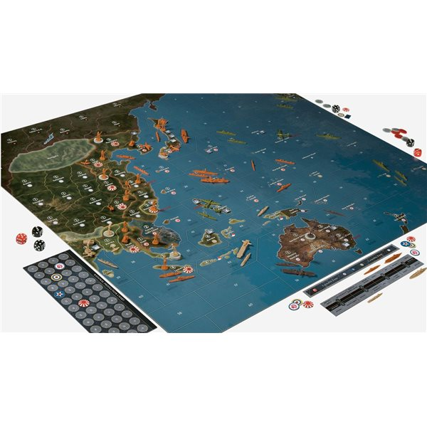 Avalon Hill Board Game Axis & Allies Pacific 1940 2nd Edition english