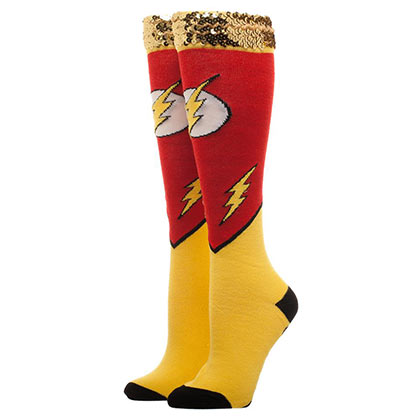 The FLASH Knee High Sequin Women's Socks