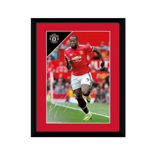 Manchester United F.C. Picture Lukaku 8 x 6