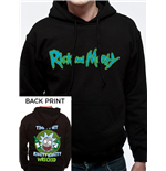 Rick And Morty - Riggity Riggity - Unisex Hooded Sweatshirt Black