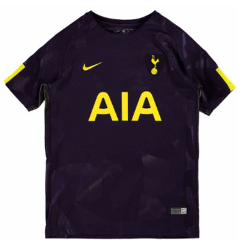 best sneakers b8819 a66e3 2017-2018 Tottenham Third Nike Football Shirt (Kids)