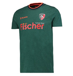 2017-2018 Leicester Tigers Players Rugby Logo T-Shirt (Green)