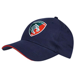 2017-2018 Leicester Tigers Knitted Woven Cap (Navy)