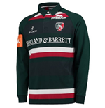 2017-2018 Leicester Tigers Home LS Classic Rugby Shirt