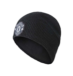 2017-2018 Man Utd Adidas Beanie Hat (Night Grey)