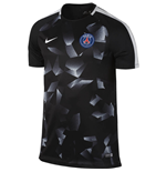 2017-2018 PSG Nike Pre-Match Training Shirt (Black)