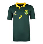 2017-2018 South Africa Springboks Home Pro Rugby Shirt (Kids)