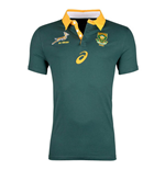 2017-2018 South Africa Springboks Home Cotton Rugby Shirt