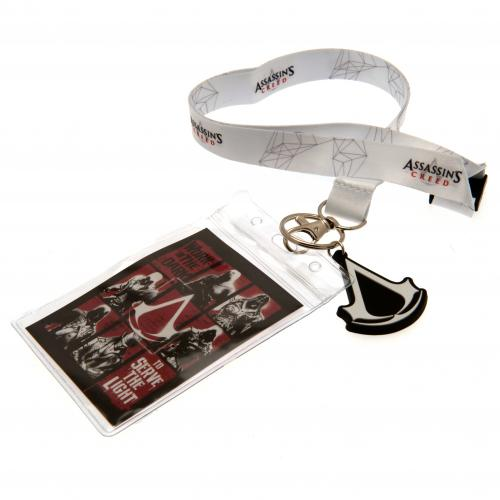 Assassins Creed Lanyard & Keyring Set
