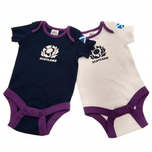 Scotland R.U. 2 Pack Bodysuit 6/9 mths