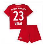 2017-18 Bayern Munich Home Mini Kit (Vidal 23)