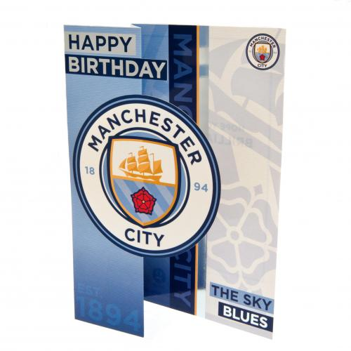 Manchester City F.C. Birthday Card