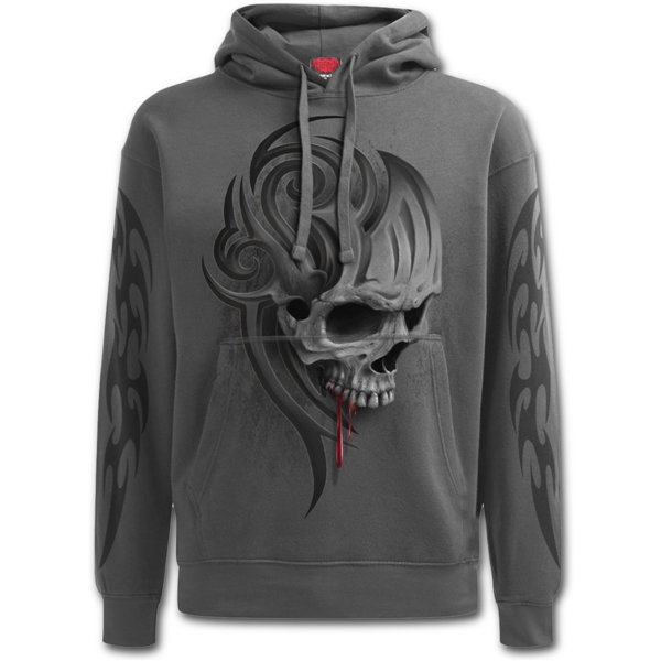Death Roar - Hoody Charcoal