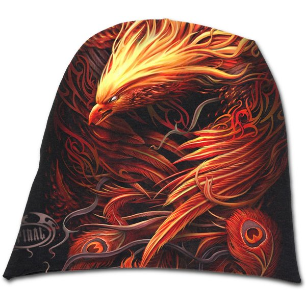 Phoenix Arisen - Light Cotton Beanies Black