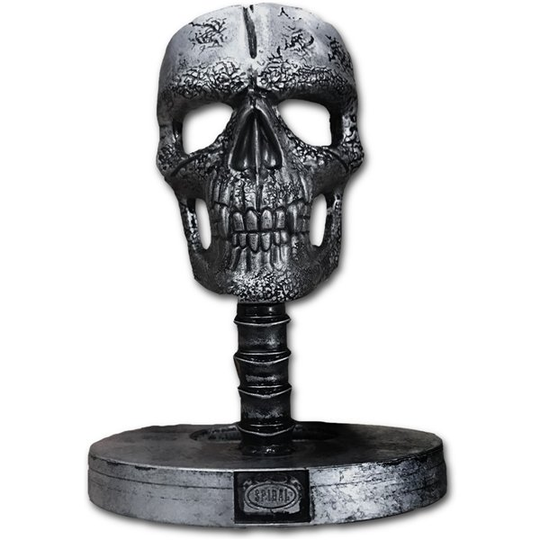 Wax Reaper With Skull - Candle with Metal Sculpture