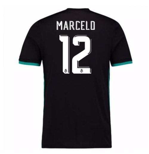 2017-18 Real Madrid Away Shirt - Kids (Marcelo 12)