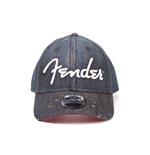 Fender - Denim Baseball Cap With Curved Bill