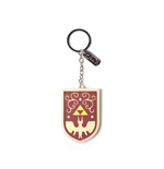 Zelda - Hero's Shield 3D Rubber Keychain With Charm