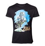 Zelda Breath of the Wild - Link Horse T-shirt