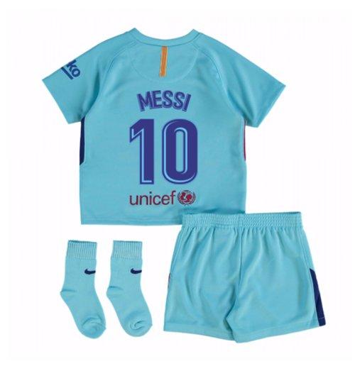 pretty nice cd590 b3ee6 2017-2018 Barcelona Away Baby Kit (Messi 10)