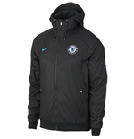 2017-2018 Chelsea Nike Authentic Windrunner Jacket (Anthracite)
