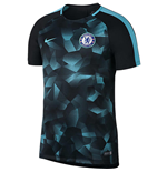 2017-2018 Chelsea Nike Dry Squad Training Shirt (Black)