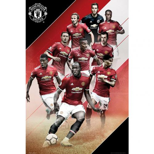 Manchester United F.C. Poster Players 41