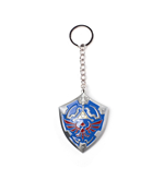 The Legend of Zelda 3D Metal Keychain Hylian Shield 7 cm