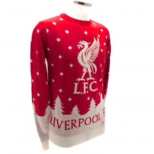 Liverpool F.C. Christmas Jumper Small