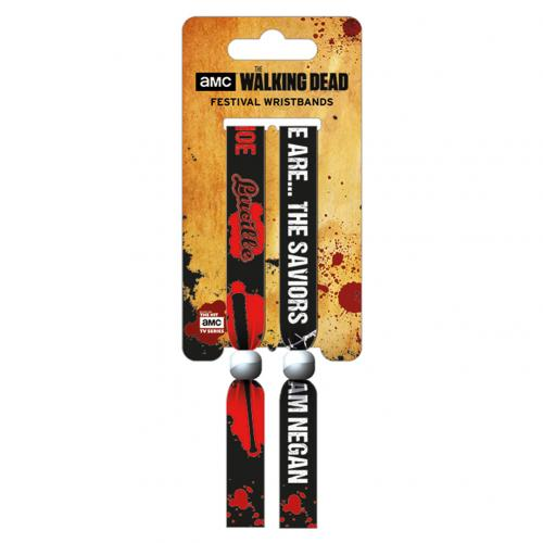 The Walking Dead Festival Wristbands