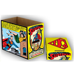 DC Comics Storage Boxes Superman Comic Panel 23 x 29 x 39 cm Case (5)