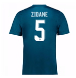 2017-18 Real Madrid Third Shirt (Zidane 5)