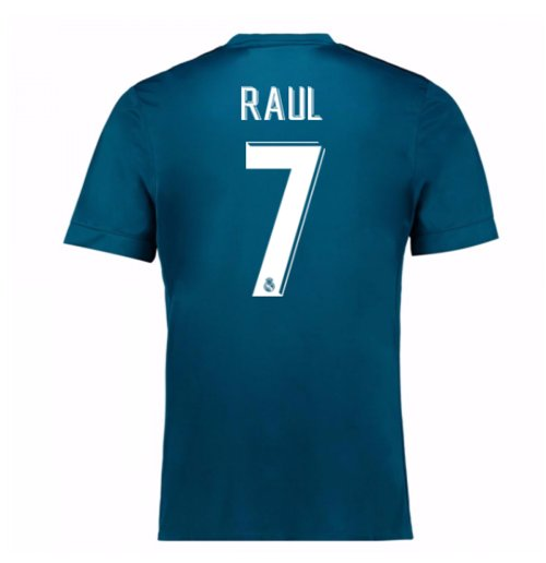 2017-18 Real Madrid Third Shirt (Raul 7) - Kids
