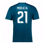 2017-18 Real Madrid Third Shirt (Morata 21)