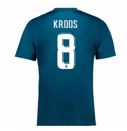 2017-18 Real Madrid Third Shirt (Kroos 8) - Kids
