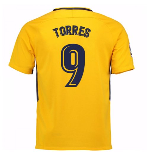 2017-18 Atletico Madrid Away Shirt (Torres 9)