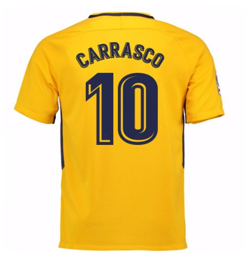 2017-18 Atletico Madrid Away Shirt (Carrasco 10) - Kids
