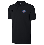 2017-2018 PSG Nike Core Polo Shirt (Black)
