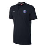 2017-2018 PSG Nike Authentic League Polo Shirt (Black)